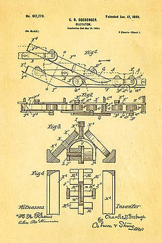 Ian Monk - Seeberger Escalator Patent Art 1899