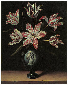 Jacques Linard - Still Life of Tulips