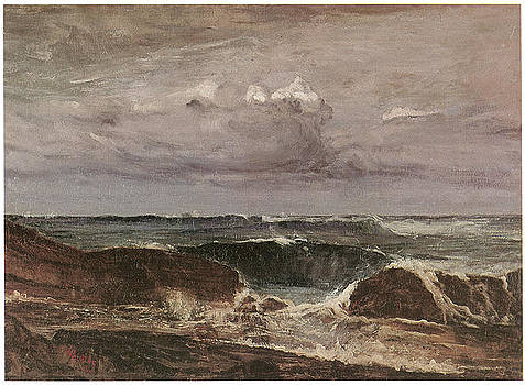 James Abbott McNeill Whistler - The Blue Wave Biarritz