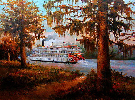 Kanayo Ede - THe Delta Queen - The legendary Louisiana Steamboat