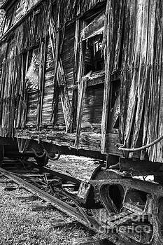 Debra K Roberts - Train Car of Days Gone