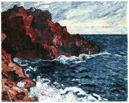 Louis Valtat - Violet Cliffs