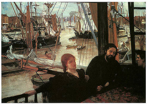 James Abbott McNeill Whistler - Wapping