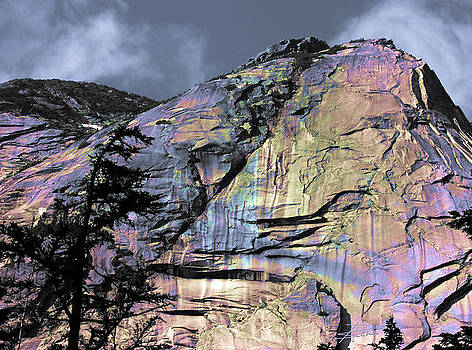 Barbara  White - Rock Face on the Coquihalla