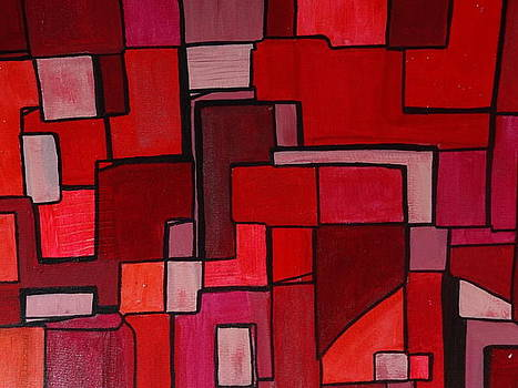 Nancy Fillip - Study in Red