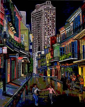 Terry Sita - Looking down Royal St.