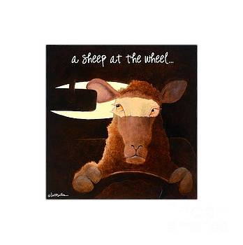 Will Bullas - a sheep at the wheel...