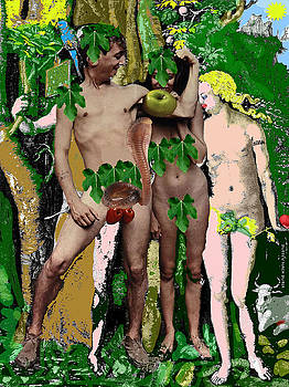 DOUG DUFFEY - ADAM AND EVE BEFORE AND AFTER -NACH DURER