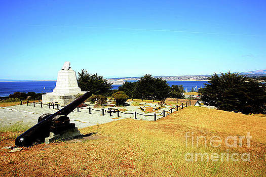 California Views Mr Pat Hathaway Archives - Commodore Sloat Monument was constructed in 1910, Presidio of Monterey 2009