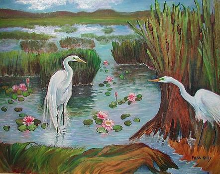 Fran Kelly - Egrets Courting