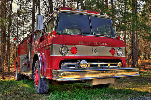 Jason Blalock - Fire Truck HDR
