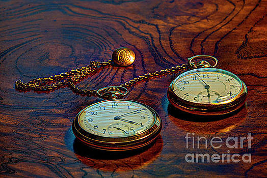 Dale Powell - Gold Pocket Watches