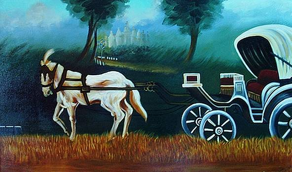 Xafira Mendonsa - Horse And Carriage