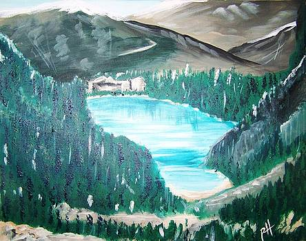 Patti Spires Hamilton - Lake Louise 1