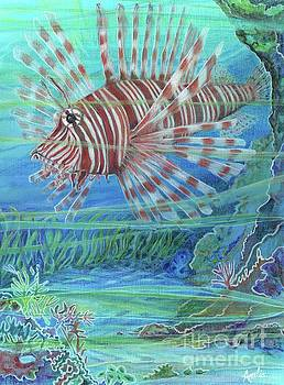 Amelia at Ameliaworks - Lionfish Blues