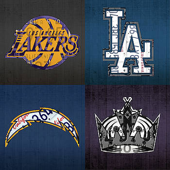 Image result for lakers dodgers chargers jayhawks kings
