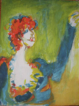 Lydia L Kramer - Red Haired Lady