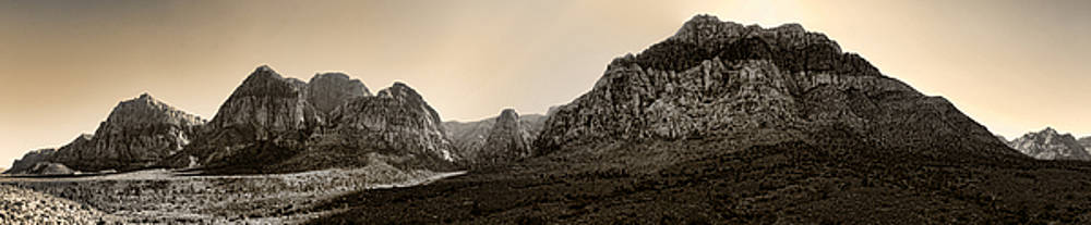 Ricky Barnard - Red Rock Panorama - Anselized