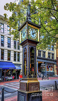 Jon Burch Photography - Steam Clock