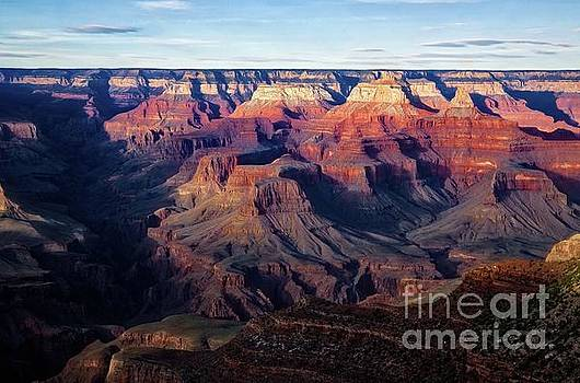 Jon Burch Photography - Sunset over Bright Angel Canyon