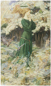 Eleanor Fortescue-Brickdale - The Lover