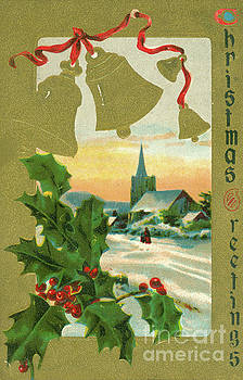 Dale Powell - Vintage 1915 Christmas Card