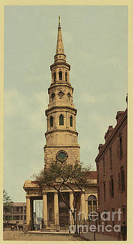 Dale Powell - Vintage Postcard of St. Philip