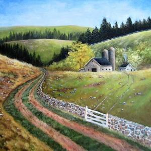 landscape paintings and photographs Art Competition