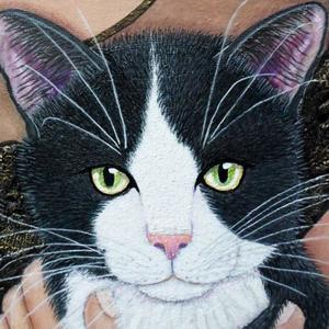 New Logo for Painted Cats the domestic felines Group - only traditional mediums Art Competition