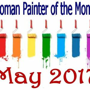 Women Painter of the month - MAY 2017 - Only artworks accepted into the group Art Competition