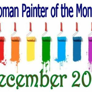 Women Painter of the month - DECEMBER 2018 - Only artworks accepted into the group Art Competition