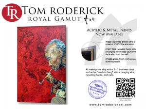 Metal And Acrylic Prints By Boulder Portrait Artist Tom Roderick Now Available